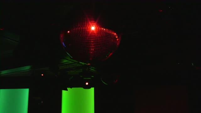 disco ball - dance floor stock videos & royalty-free footage