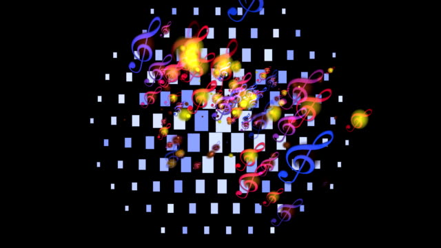 disco ball - psychedelische musik stock-videos und b-roll-filmmaterial