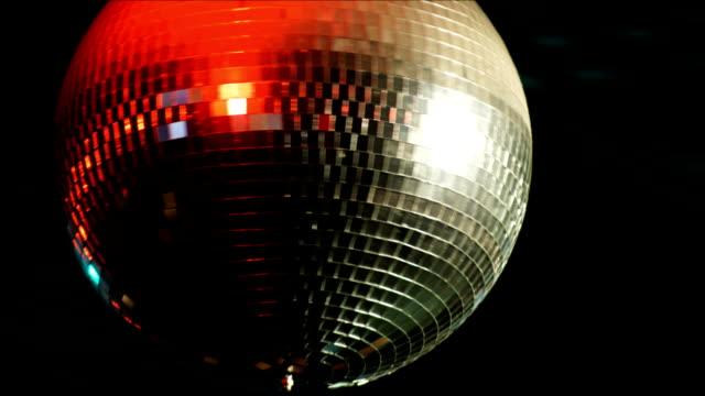 vidéos et rushes de boule à facettes - discothèque