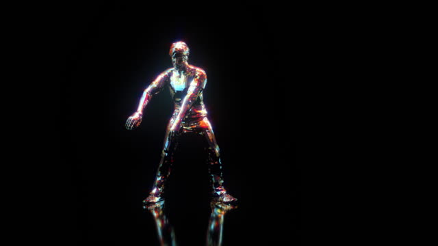disco dancer robot dance. 1970s - 1980s style - masculinity stock videos & royalty-free footage