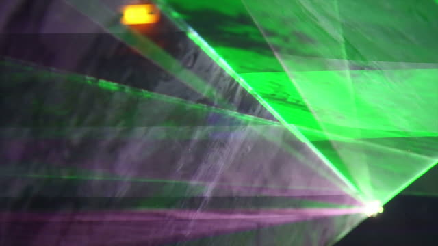 HD Disco Laser Close-up (loopable)