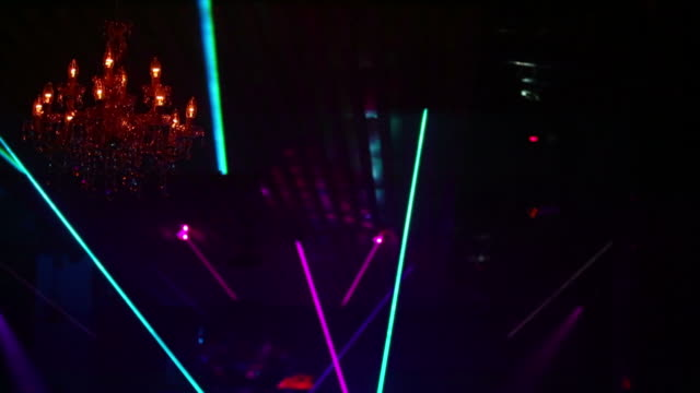 hd disco laser lights (loopable) - agility stock videos and b-roll footage