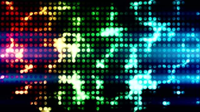 disco light wall loopable background - spotted stock videos & royalty-free footage