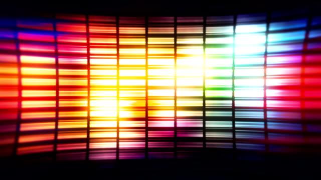 vídeos y material grabado en eventos de stock de colorido fondo estilo discoteca en bucle de vídeo - pared