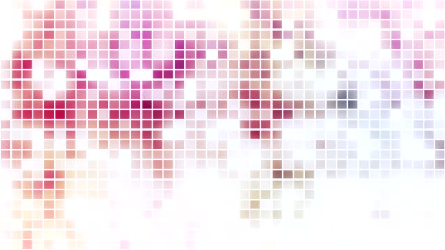 Disco style mosaic loopable background