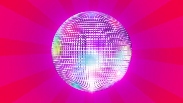 discoball #4_2 hd - mirror ball stock videos & royalty-free footage