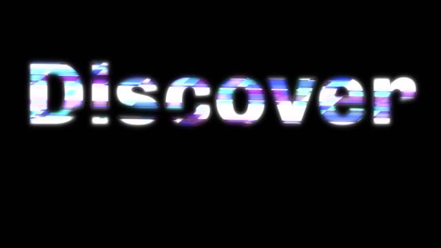 Discover Glitchy Words