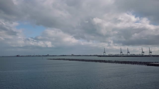 Discovering Australia: Aerial view of Port Melbourne and Princess Pier