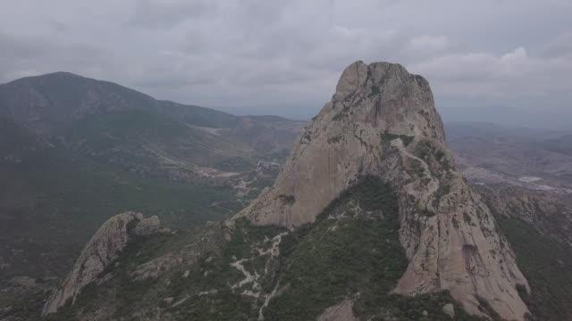 Discovering Peña Bernal aerial view