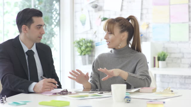 discussing positive company changes - business casual stock videos & royalty-free footage