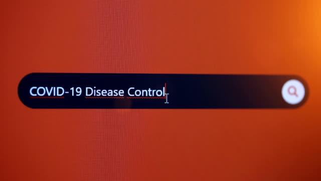 covid-19 disease control - vettore della malattia video stock e b–roll