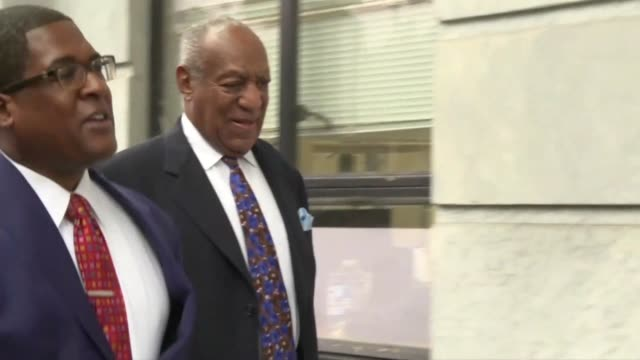 disgraced us television icon bill cosby arrives at a pennsylvania court to face sentencing for sexual assault five months after his conviction at the... - social movement stock videos & royalty-free footage