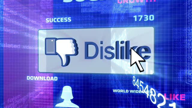 Dislike Button In The Digital World