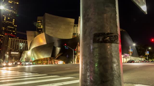 Disney Concert Hall Timelapse