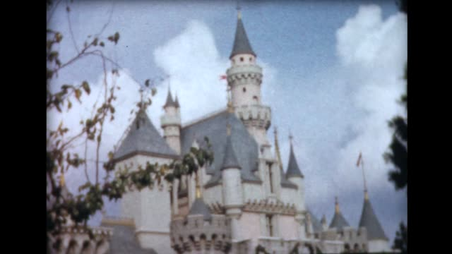 1962 disneyland 4 - disney stock videos and b-roll footage