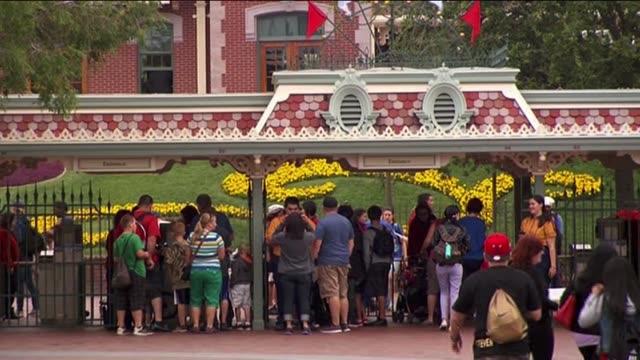 ktla disneyland on may 24 2013 in anaheim california - anaheim california stock videos & royalty-free footage