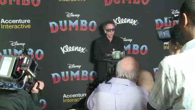 Disney's Dumbo directed by Tim Burton has its world premiere in Los Angeles continuing the entertainment giant's project of making live action...