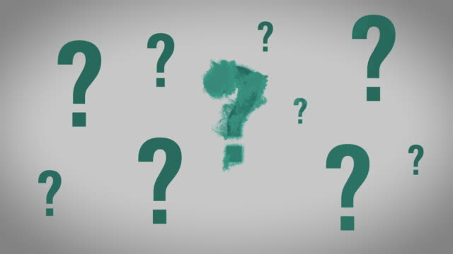 dispeling questions - question mark stock videos & royalty-free footage
