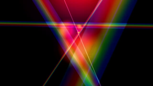 """Dispersive prism, abstract animation"""