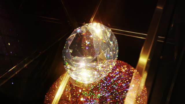 Display inside Swarovsky Crystal Worlds