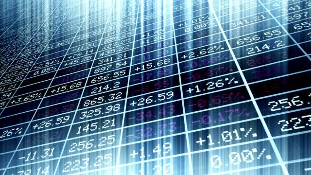 Apresentação de mercado de Stock