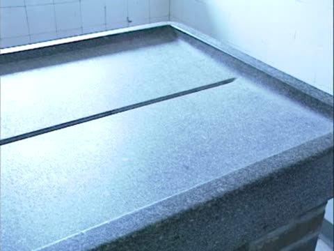 / dissection Room stone stone dissection table with drain