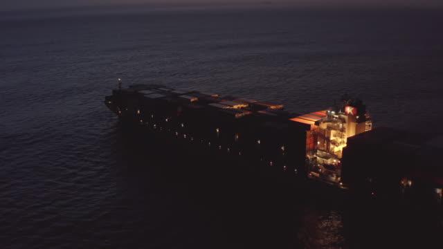 vídeos y material grabado en eventos de stock de la distancia no es una barrera para su entrega - ferry
