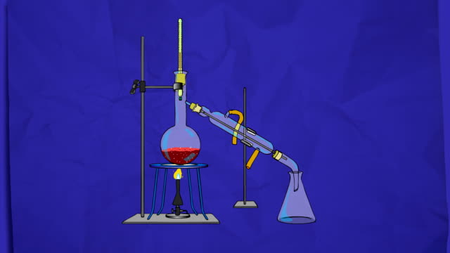 distillation process - thermometer stock videos & royalty-free footage