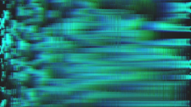 vídeos de stock e filmes b-roll de distorted teal digital background in 4k - duvida