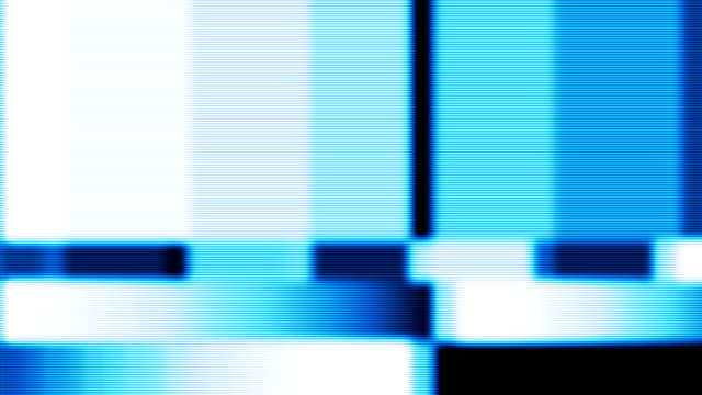 distorted test pattern - test pattern stock videos & royalty-free footage