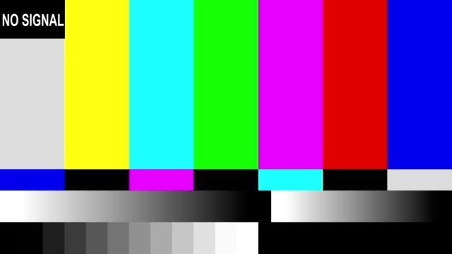 distorted test pattern. - television static stock videos & royalty-free footage