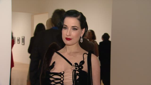 dita von teese at the the museum of contemporary art los angeles presents the annual moca gala at los angeles ca - los angeles museum of contemporary art stock videos and b-roll footage