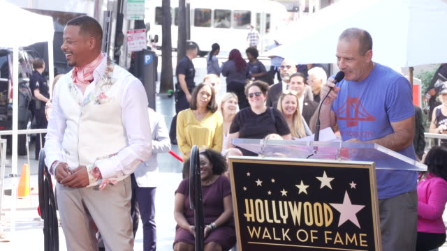 dito montiel at the terrence howard honored with a star on the hollywood walk of fame on september 24, 2019 in hollywood, california. - terrence howard stock videos & royalty-free footage