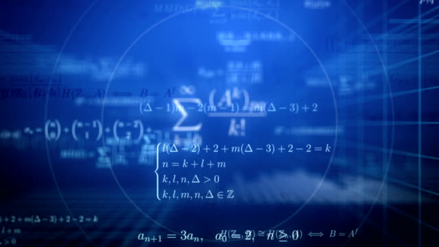 dive into math. loop. - mathematics stock videos and b-roll footage