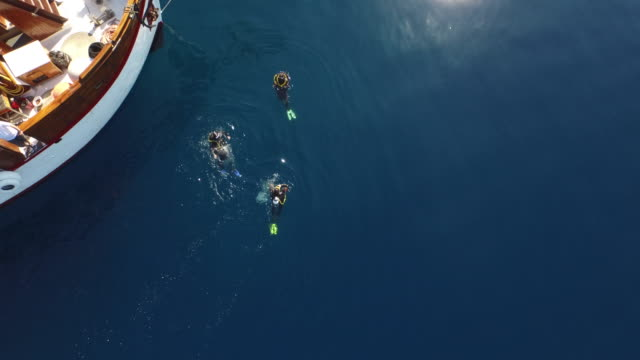Divers in Croatia