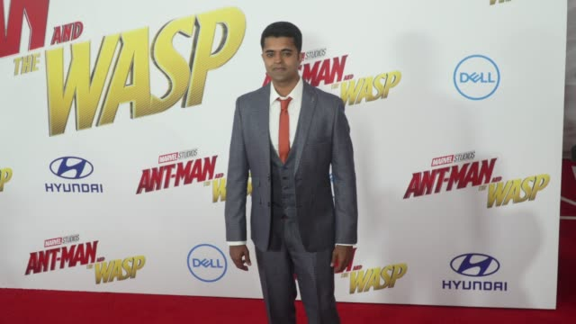 Divian Ladwa at the 'AntMan and the Wasp' World Premiere at the El Capitan Theatre on June 25 2018 in Hollywood California