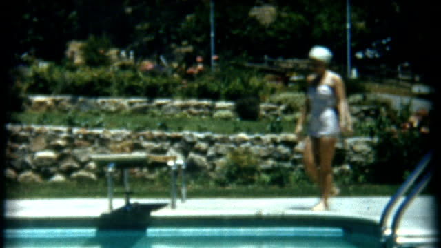 diving bell 1950's - swimming cap stock videos and b-roll footage