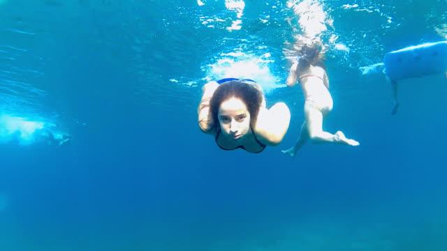 Duiken in de zee