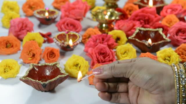 diwali festival - chennai stock videos & royalty-free footage