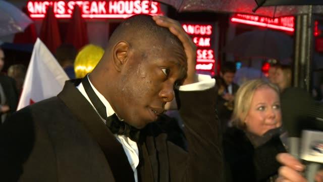 dizzee rascal at the kickass uk premiere at london england - kick ass film title stock videos & royalty-free footage