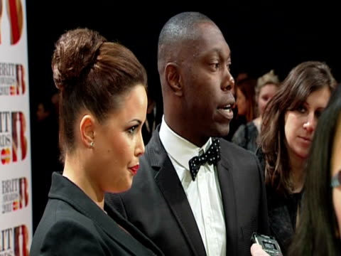 dizzie rascal at the brit awards 2011 at london england - 2011 stock videos & royalty-free footage