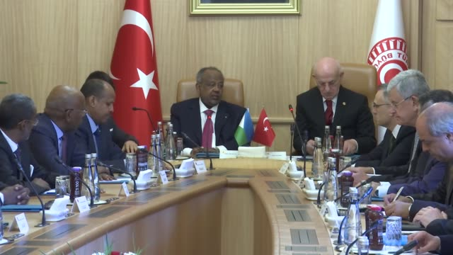 Djibouti President Ismail Omar Guelleh visited Turkish parliament on Tuesday In his meeting with Turkish Parliament Speaker Ismail Kahraman on...