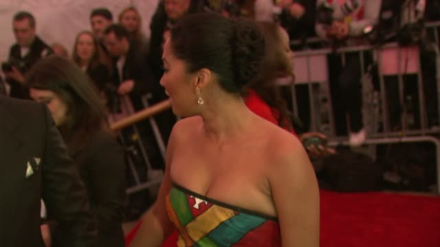 djimon hounsou and kimora lee simmons at the superheroes fashion and fantasy costume institute gala at the metropolitan museum of art at the... - kimora lee simmons stock videos & royalty-free footage