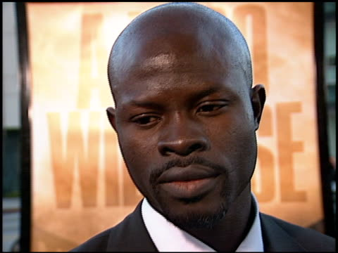 Djimon Hounsou at the 'Gladiator' Premiere at Academy Theater in Beverly Hills California on May 1 2000
