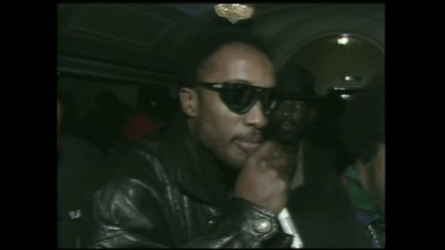 dj/producer jam master jay of run dmc and the afros in 1989 at the ritz in nyc - dj stock videos & royalty-free footage