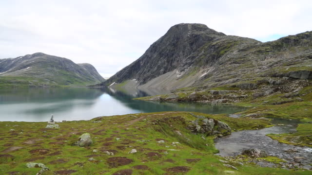 Djupvatnet lake, views of lake