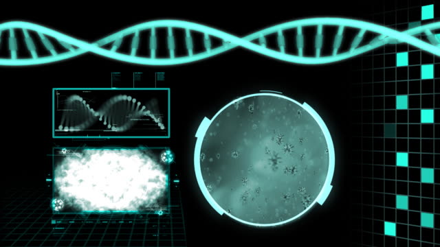 dna structure hd - helix model stock videos and b-roll footage