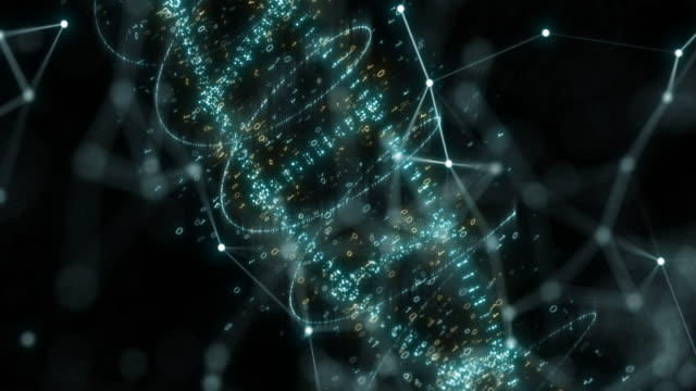 dna,3d render - helix stock videos & royalty-free footage