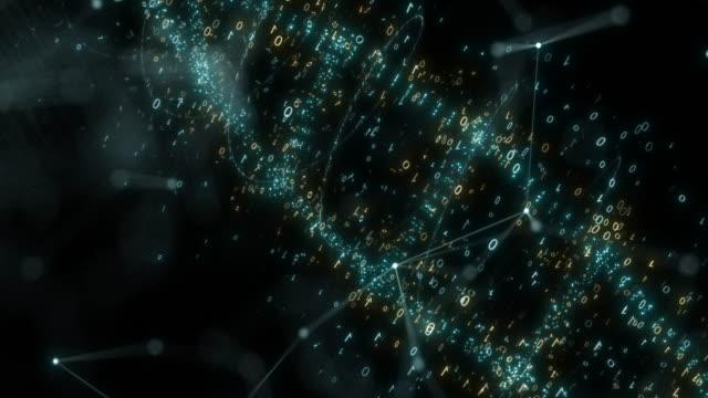 vidéos et rushes de dna,3d rendu - hélice forme géométrique