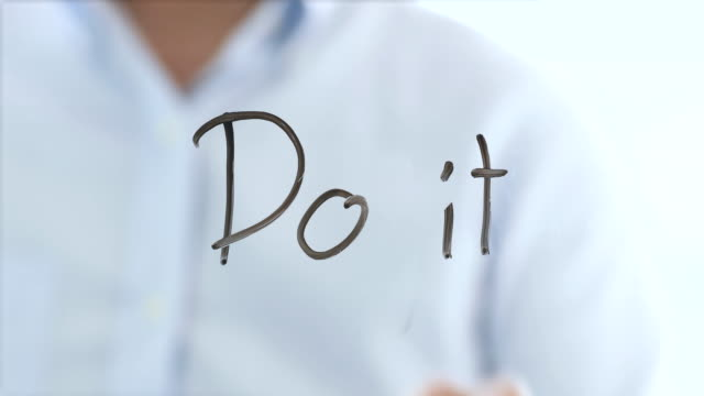 do it concept - attitude stock videos & royalty-free footage